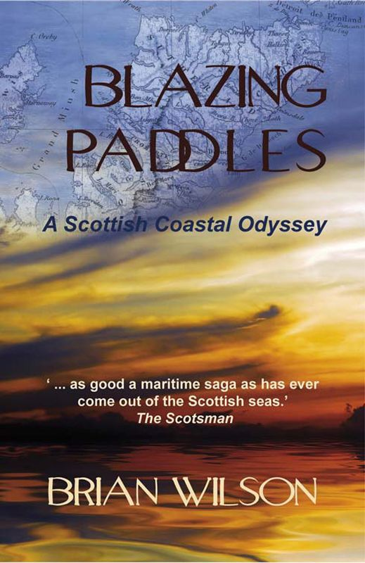 Alone in his tiny kayak, Brian Wilson sets off on an 1800-mile odyssey around Scotland's grand cliffscapes, unspoiled shorelines, fearsome sea passages and Hebridean islands. He discovers a world of sea-level adventure, and in the process takes a good look at Scottish identity from a unique and fascinating perspective. http://www.tworavenspress.com/product/blazzing-paddles/