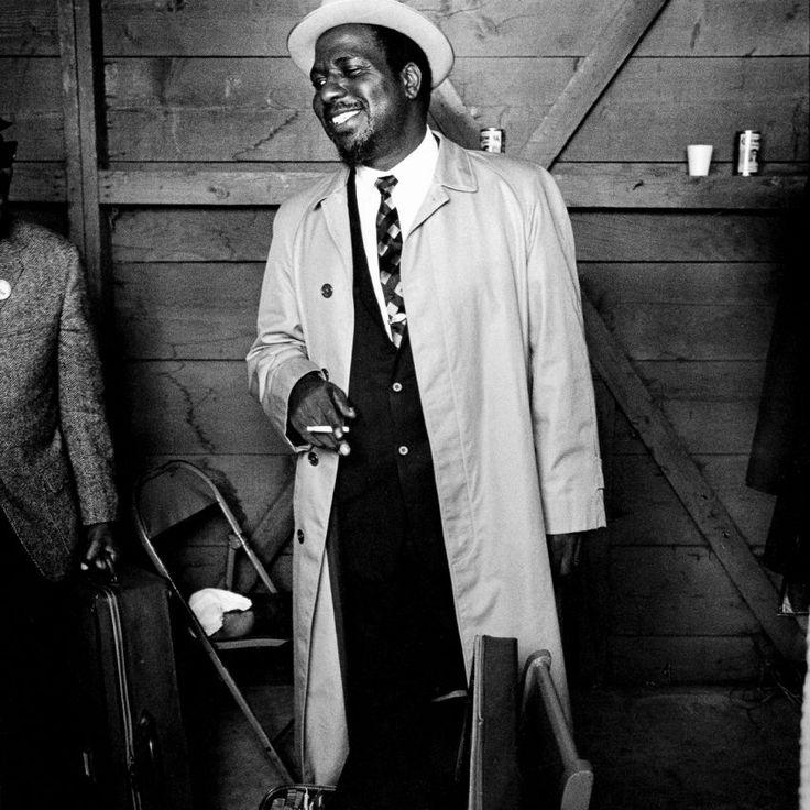 Thelonious Monk at Monterey Jazz Festival, 1964.