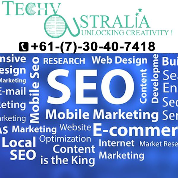 +61(7)-30-40-74-18 Organic SEO  in  Techy  Australia