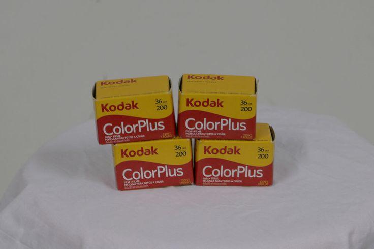 4 pellicole kodak colorplus 200 36exp scadute