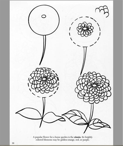 how to draw a good flower