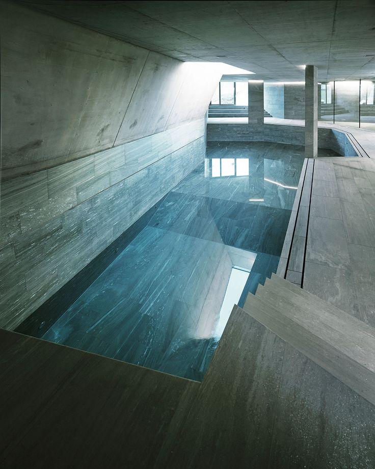 Villa ensemble near zurich switzerland by afgh architects for Interior design zurich switzerland