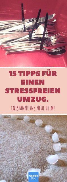 15 Tipps für einen stressfreien Umzug. #umzug #um…
