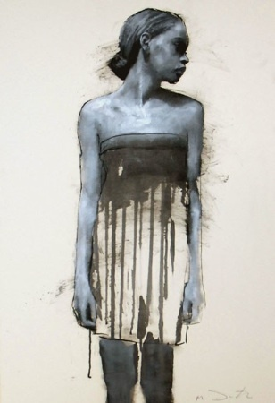 Gorgeous Oil Study by Mark Demsteader, Contemporary Figurative Artist - UK