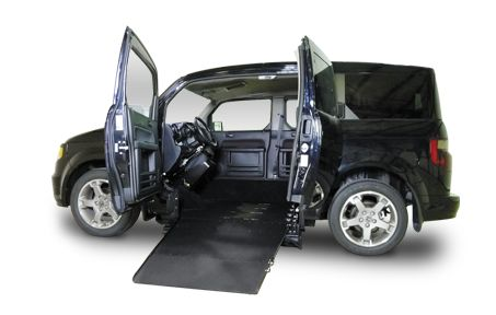 BLACK HONDA ELEMENT CABANA.>>> See it. Believe it. Do it. Watch thousands of spinal cord injury videos at SPINALpedia.com