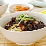 This Korean-Chinese noodle dish is a huge part of Korean food culture. Everyone loves it. It's very easy to make it at home, and you can easily find black bean paste from a Korean market.