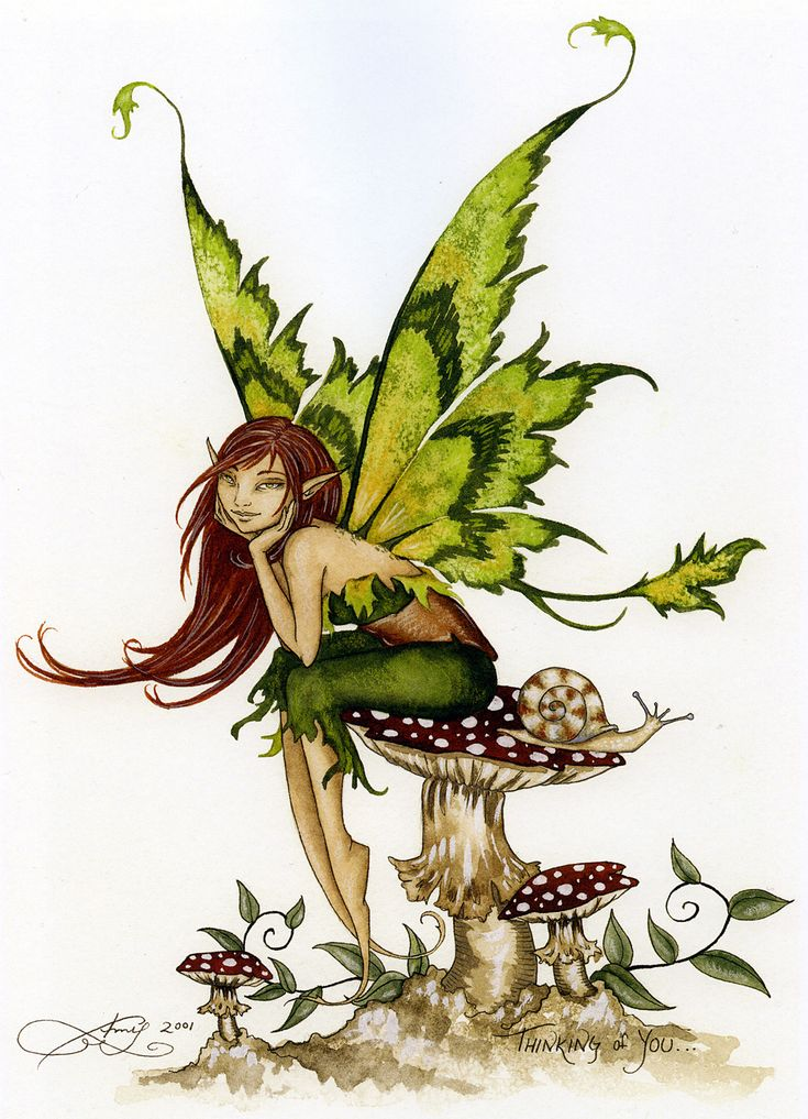 Fairy Art by Amy Brown Thinking of You...