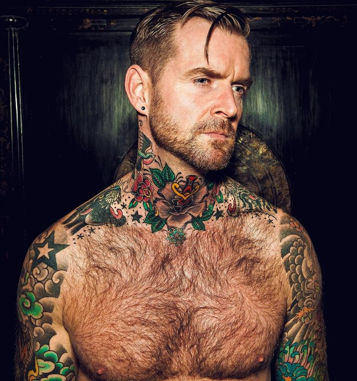 Hairy + Tatts = In Love