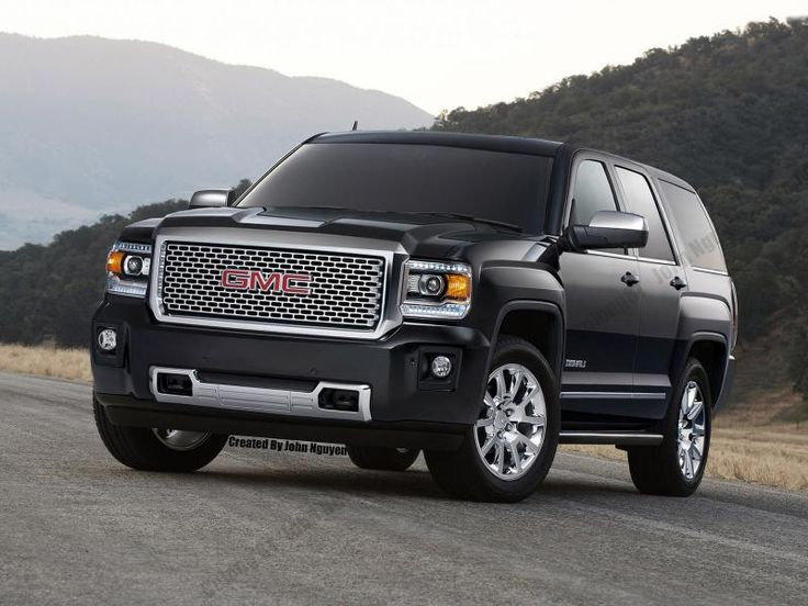 2015 GMC Sierra Denali front end on a 2015 GMC Yukon ...