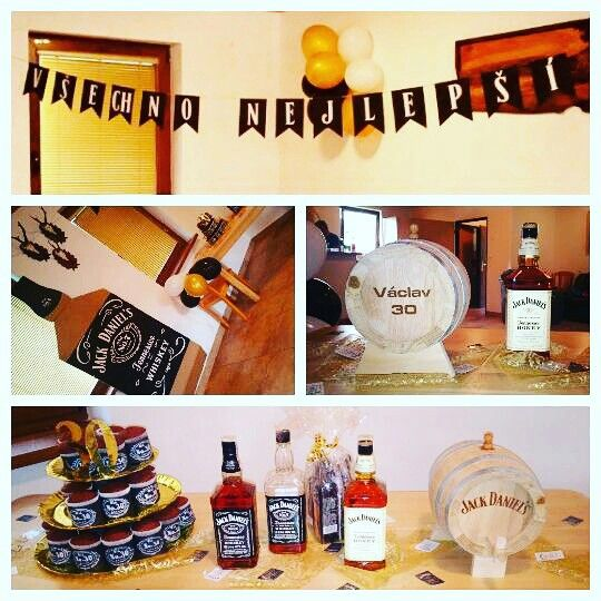 Jack Daniel's party for my future brother-in-law.