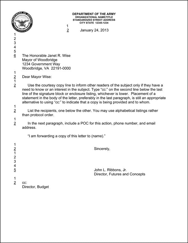Best  Official Letter Template Ideas On   Example Of