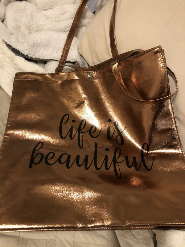 Life Is Beautiful Bag For Sale In Gilbert Az Offer Up Beautiful