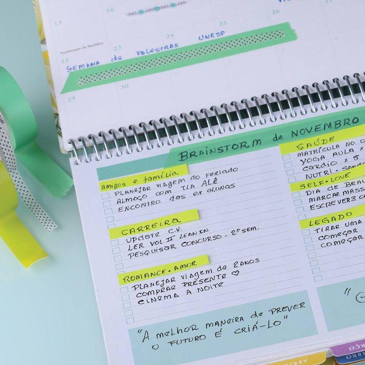 O Daily Planner é simples e confiável, é você que está no controle! Compre online - www.paperview.com.br • Receba em casa #voltaasaulas #backtoschool #etiquetasadesivas #papelariafina #papelariapersonalizada