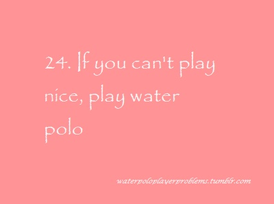 Water Polo Player Problems