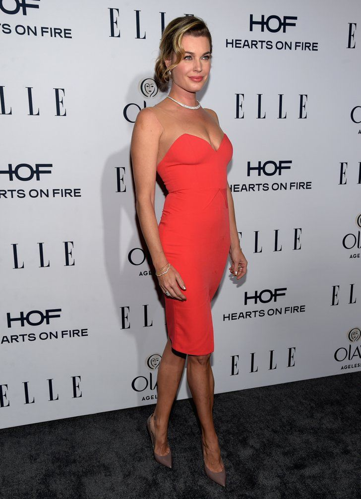 Pin for Later: There Were So Many Powerful Women at Elle's Annual Television Bash  Pictured: Rebecca Romijn