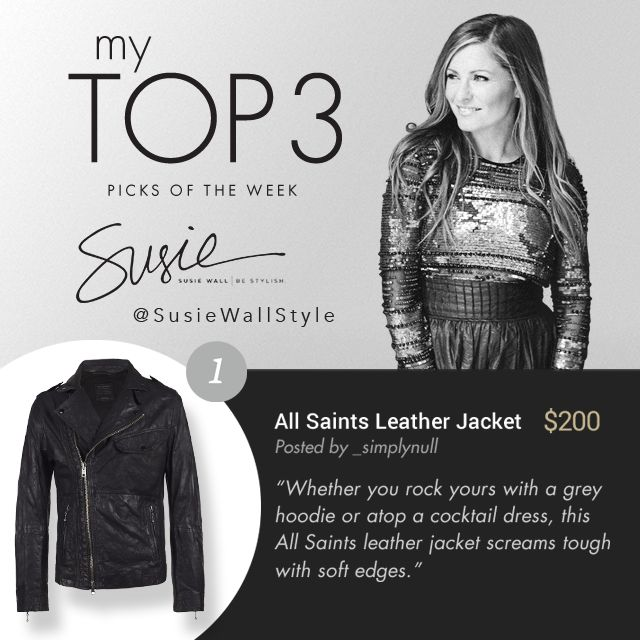 Shop this All Saints leather jacket on the breez app today! http://bit.ly/1MP5e9F #AllSaints #Jacket #SusieWall #breezIt