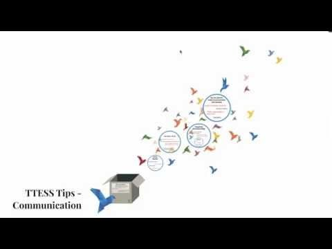 TTESS Tips Communication - YouTube