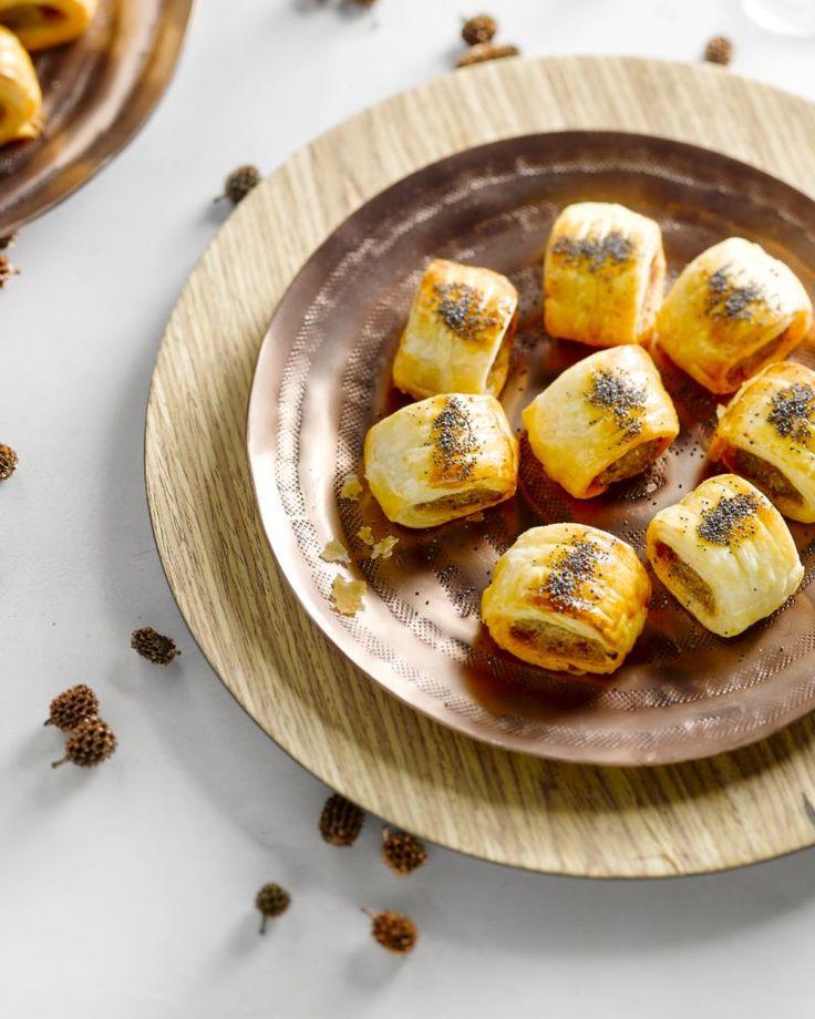 Pittige mini-worstenbroodjes