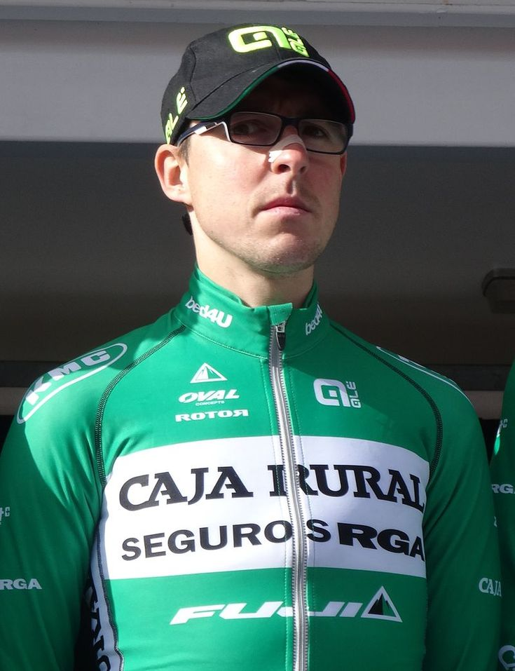 Ángel Madrazo (30-7-88) || Amateur team(s): 2008	Saunier Duval U23, || Professional team(s) 2008 Scott-American Beef, 2009-2010 Caisse d'Epargne, 2011-2013 Movistar Team, 2014 - (Currently): Caja Rural-Seguros RGA || Photo: Jérémy-Günther-Heinz Jähnick