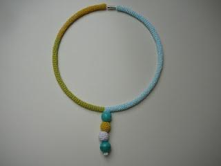 ineseda.blogspot.com #crochet #necklace #jewelry