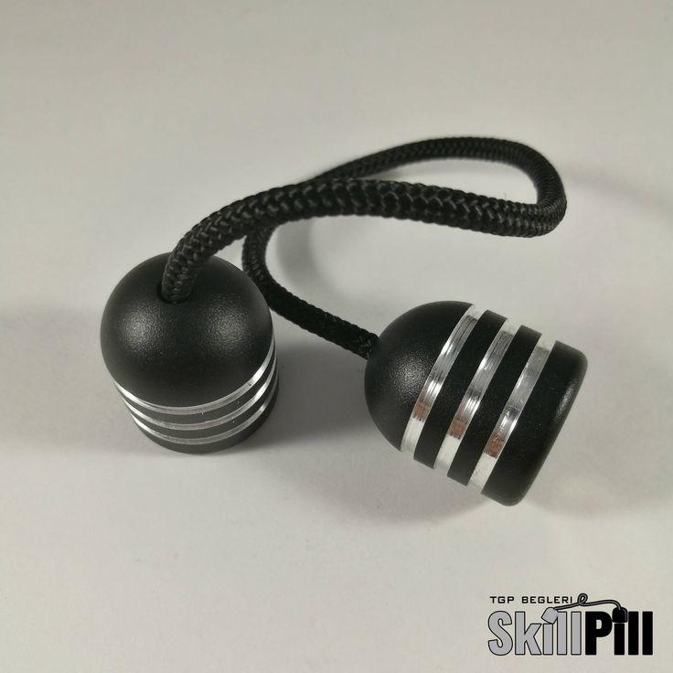 Skill Pill Begleri Magnetic (3-Ringed Black) Worry Beads Skill Toy Fidget Toy Stress Toy by TGPBegleri on Etsy https://www.etsy.com/listing/527970465/skill-pill-begleri-magnetic-3-ringed
