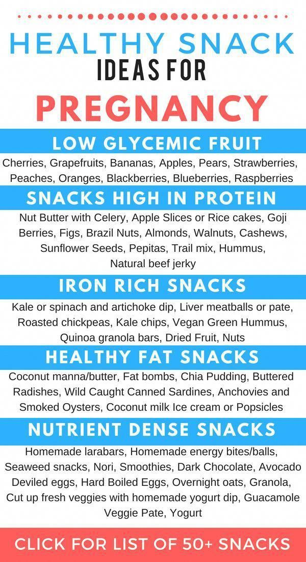 Amazingly Healthy Snacks for Pregnancy to Try Right Now