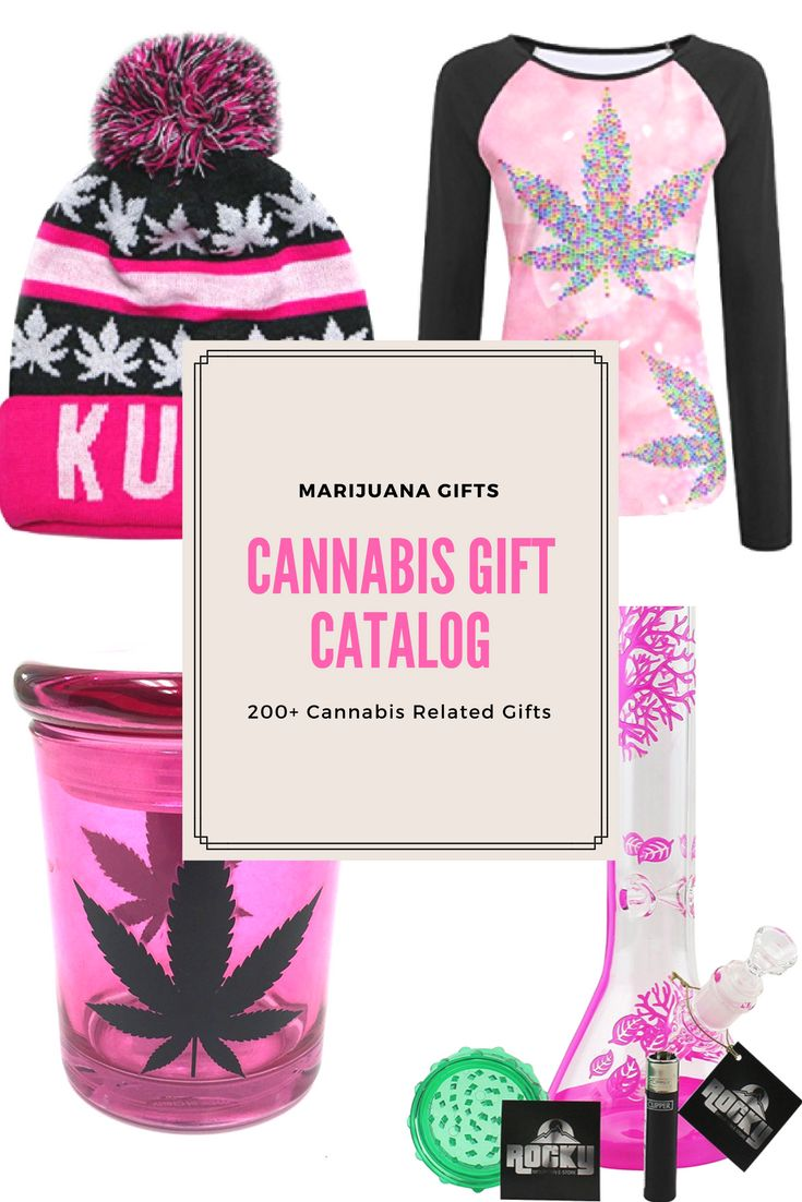 The Cannabis Gift Catalog features over 200 marijuana-related accessories. Choose from hundreds of unique gifts for weed enthusiasts & MMJ patients.