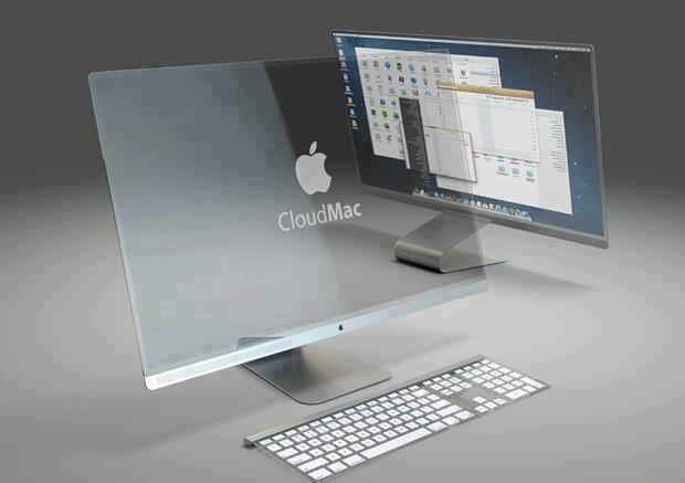 MAC - ecran transparent de la LG ... in curand :)