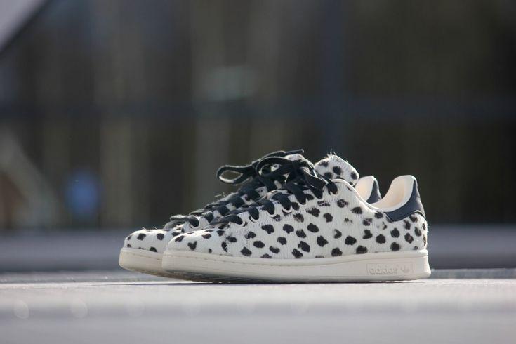 Adidas Stan Smith White Leopard Print - S75117