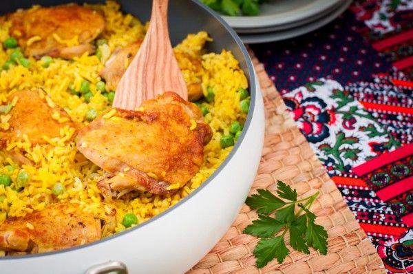 Куриные бедрышки с рисом и карри, ссылка на рецепт - https://recase.org/kurinye-bedryshki-s-risom-i-karri/  #Кашиизапеканки #Птица #Рецептыдлядиабетиков #блюдо #кухня #пища #рецепты #кулинария #еда #блюда #food #cook