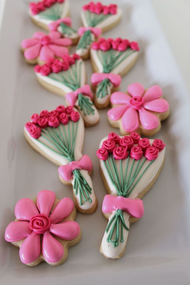 Spring Inspired Rose Cookie | The Crafting Foodie