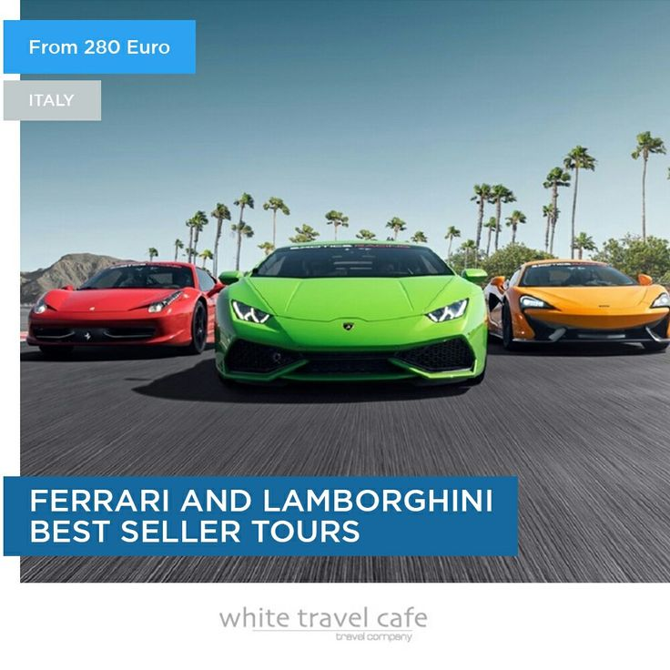 FERRARI AND LAMBORGHINI BEST SELLER TOURS  ANTAGONIST TOUR √ Guided visit to Pagani Showroom & Plant √ Guided visit to Lamborghini Plant & Museum √ Guided visit to Ferrari Gallery √ Italian Lunch √ Private transport  PRICE FOR A SINGLE PERSON: € 380  __________ #wtc #whitetravelcafe #travel #travelcafe #cafe #trip #event #events #world #worldevent #follow #lovetravel #loveevent #travelworld #like #Ferrari  #FerrariGallery #Lamborghini #LamborghiniPlant #LamborghiniMuseum #LamborghiniFerrari