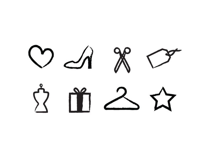 Fashion icons, could get one as a small fashion tattoo
