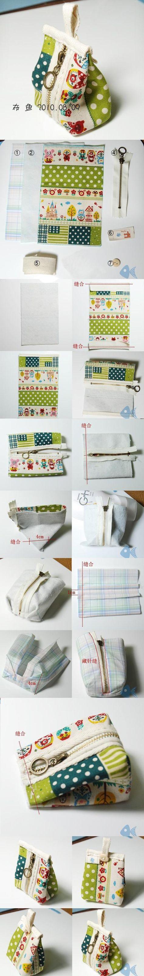 bolsa em tecido