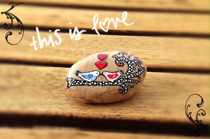Como últimamente está muy de moda First Dates (primeras citas) nos inspiramos en esos pajaritos tan graciosos para el día de San Valentín.