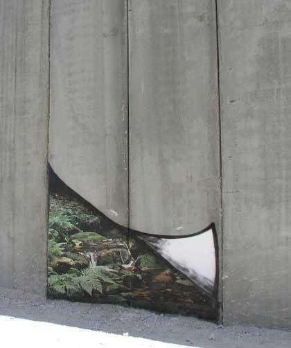 Banksy-West Bank Wall Forestl, Jerusalem