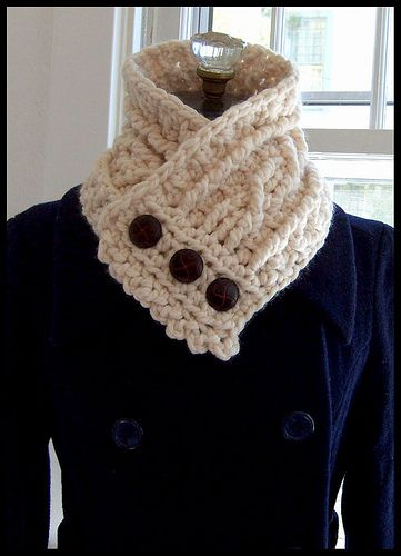 I don't crochet, but maybe I'll be able to talk one of my craft crochet buddies to make me one. :)