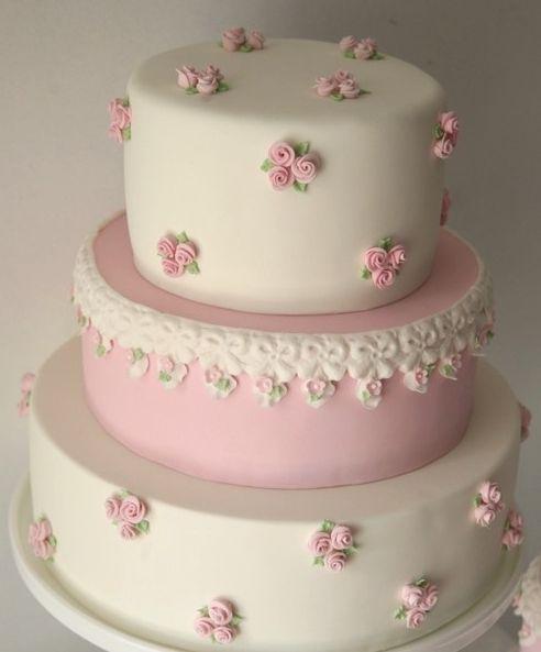 Rose cake.