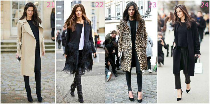 french chic płaszcz