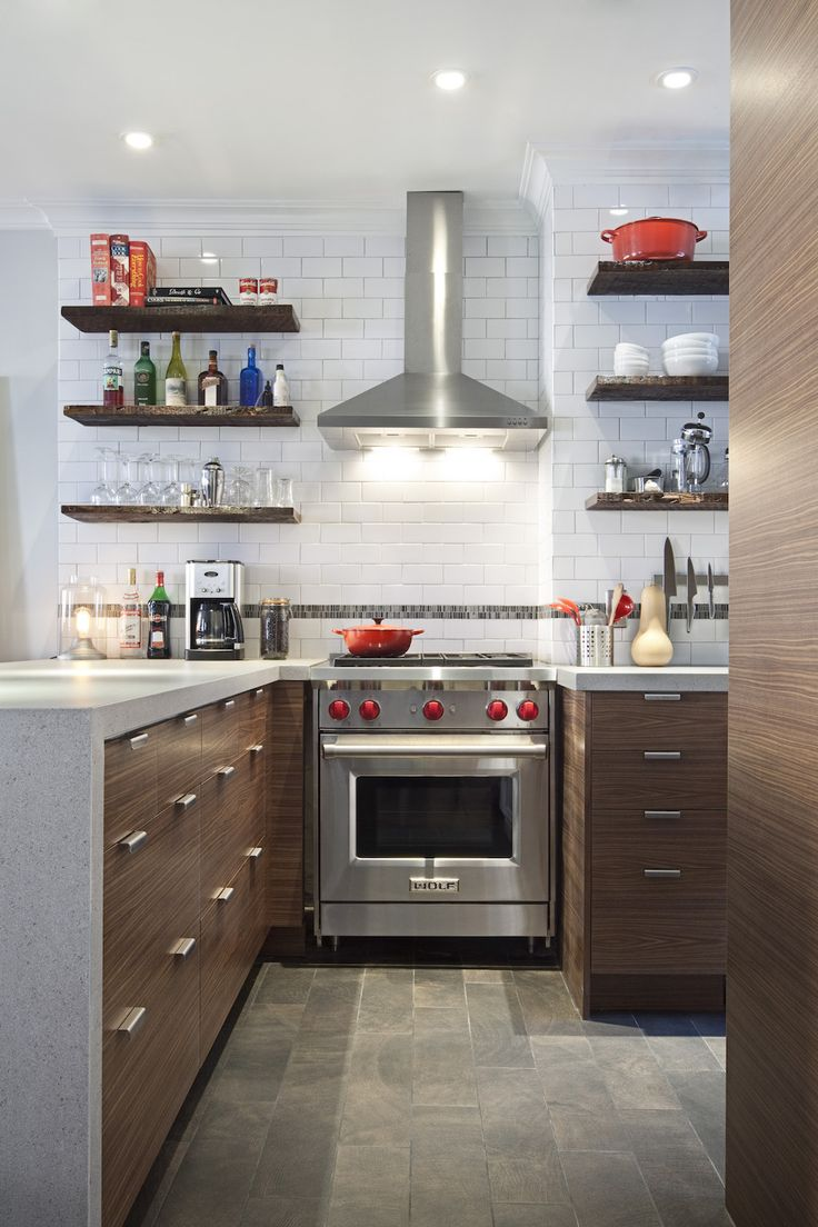 A Small Kitchen Converts to an Industrial