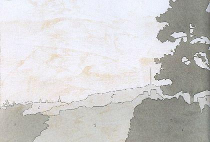 Kilátó terve a Martinovics hegyre (grafika) - Otthon a városban - társasblog