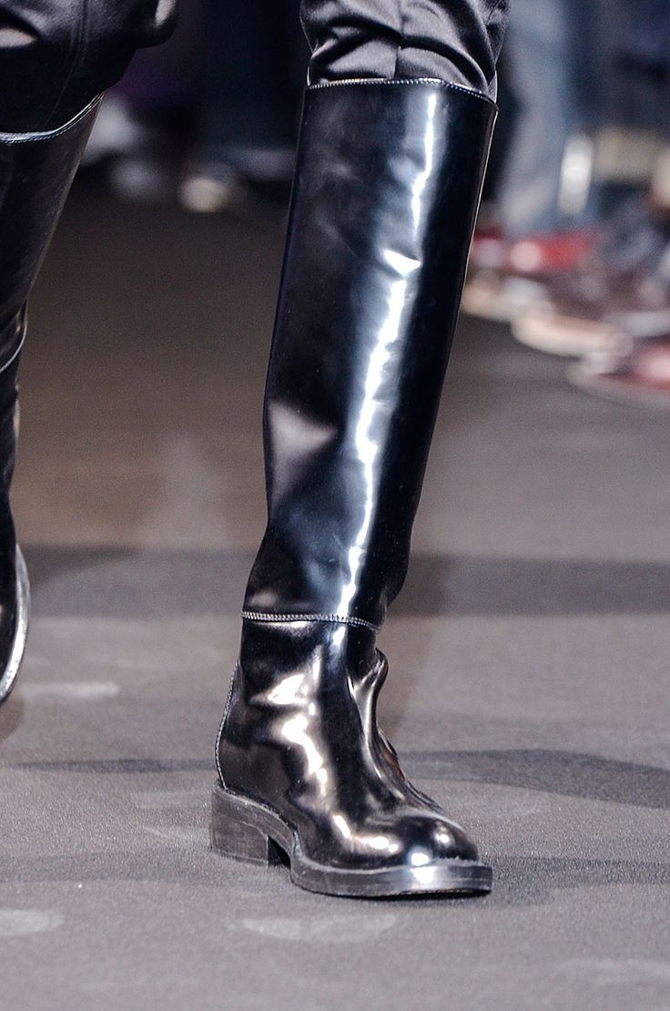 Tendencias otono 2013 botas Vogue Hombre