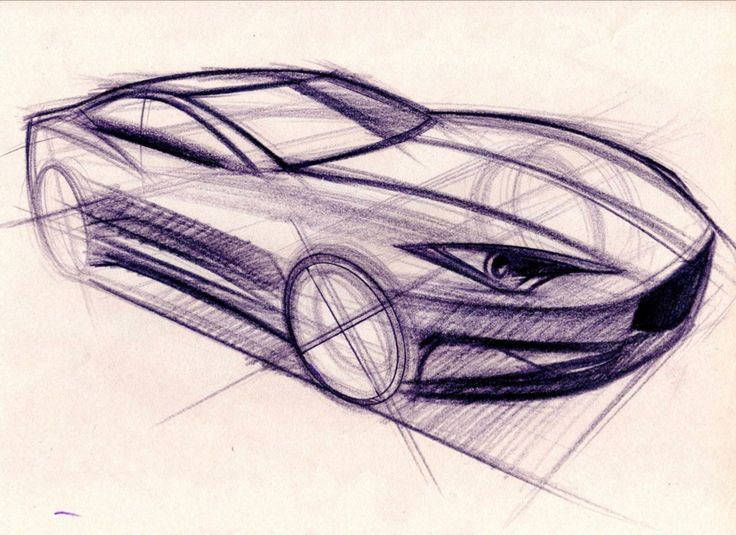 Car Perspective Drawing