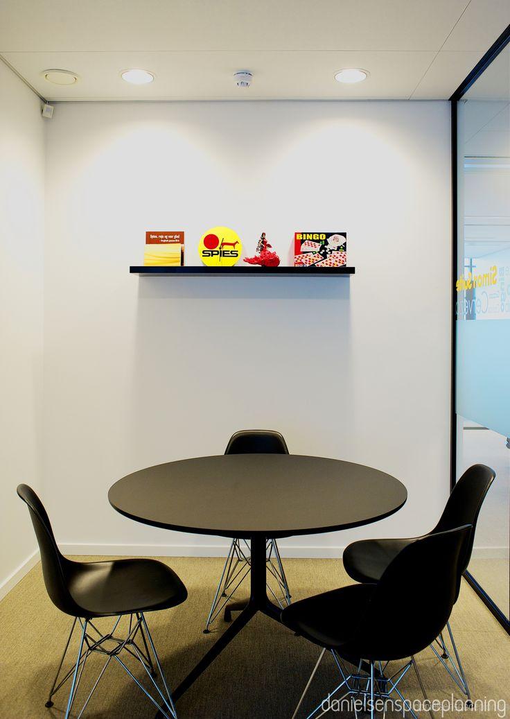 Study - Spies' office in Copenhagen. Spaceplanning and interior design by Danielsen Spaceplanning.