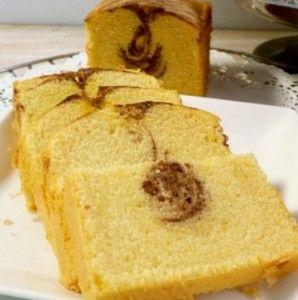 Simple Marmer Pound Cake, Teman Minum Teh di Pagi Hari
