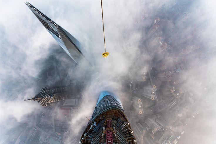 The Story Behind that Insane Shanghai Tower Climb