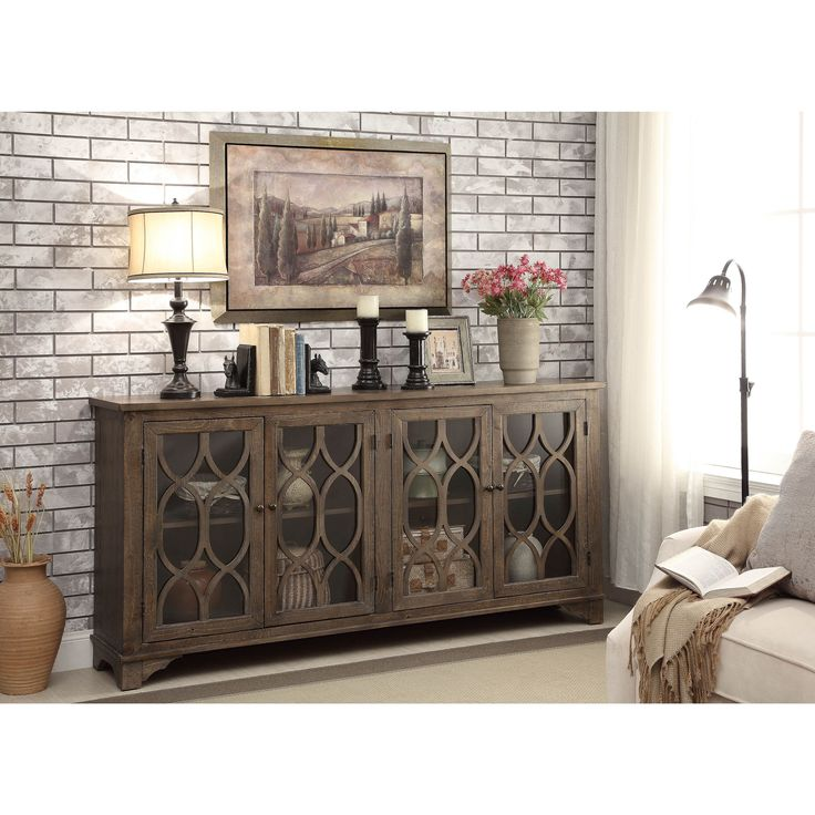Make Your Entertainment Space Stylish With Somette's Brown