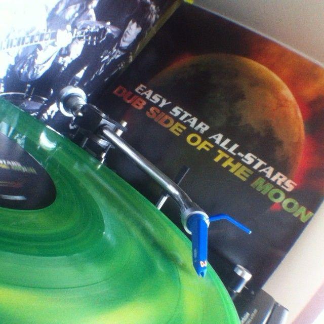 "#easystarallstars ""Dub side of the moon""  #vinyl #vinyls #vinyljunkie #vinyloftheday #vinylcollector #vinylcollection #recordcollection #nowspinning #technics"