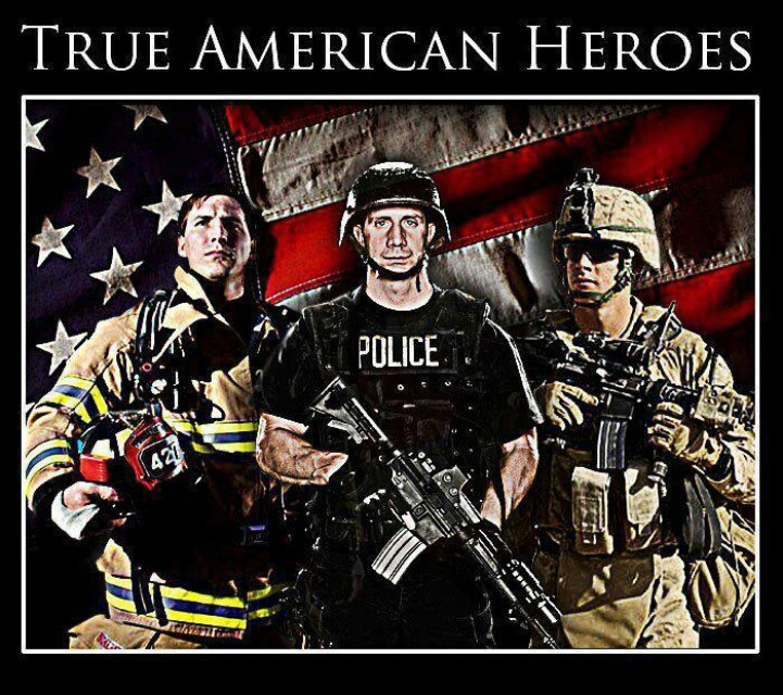 American Soldiers Are Heroes