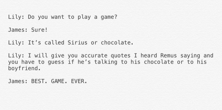 Sirius or chocolate: best game ever!